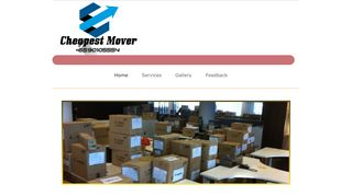 Cheapest Mover